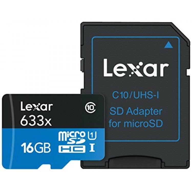 LEXAR SDMI CLASE 10 633X