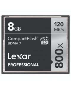 Professional 800 x CF ( UDMA 7 , VPG-20, 120MB/s ) 8 GB